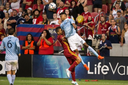 Sporting Kansas City and Real Salt Lake battle to 1-1 draw