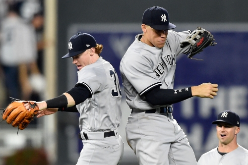 Clint Frazier is putting on a show that can't end