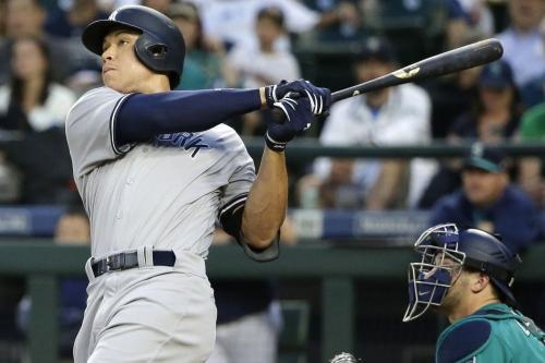 Aaron Judge hits a homer so far it breaks Statcast in Yankees' win