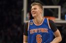 A Latvian kid got Kristaps Porzingis to clarify his Knicks future