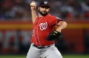 """Dusty Baker on Tanner Roark in Nationals' 4-3 win over D-backs: """"It looked like Tanner's back, big time."""""""