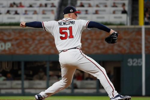Sean Newcomb, Braves square off against Clayton Kershaw
