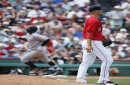 Dustin Pedroia sits, Rick Porcello on the mound for Red Sox vs Angels