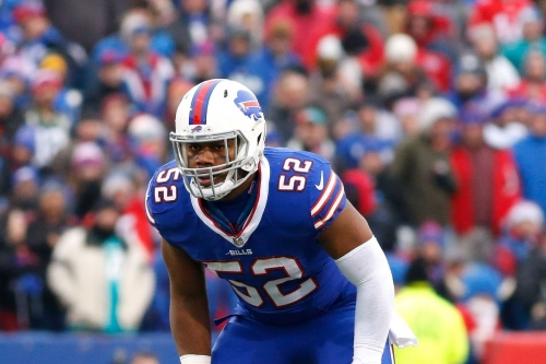 Who will be the Buffalo Bills starting middle linebacker?