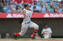 Red Sox at Angels lineup: Pedey sits for Rick Porcello