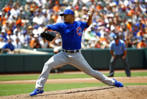 Cubs introduce their new, top-shelf acquisition to Wrigley, vs. Cardinals