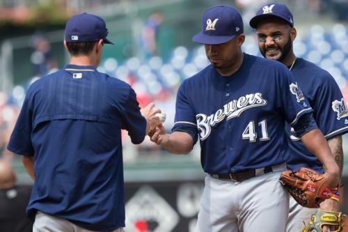 Phillies 6, Brewers 3: Junior Guerra struggles; offense goes absent
