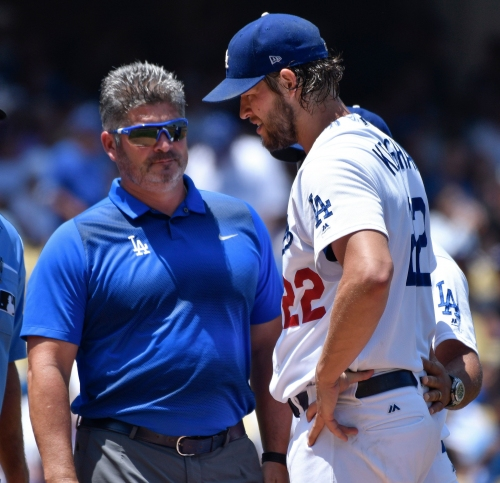 Clayton Kershaw 'not optimistic' after another back injury sends him to disabled list