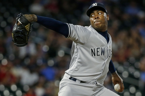 Aroldis Chapman is struggling due to one mechanical flaw