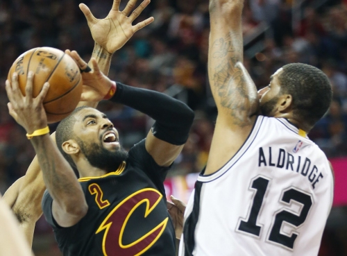 Here's what Kyrie Irving might look like on the Knicks or Spurs