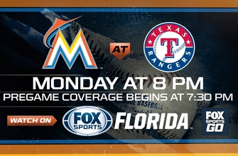 Preview: Marlins take road trip to Texas, face off with Rangers