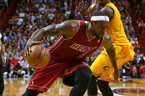 Think of the irony: James' Cavaliers versus Irving's Heat in the Eastern Conference Finals