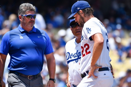 Dodgers' Clayton Kershaw out 4-6 weeks with back injury