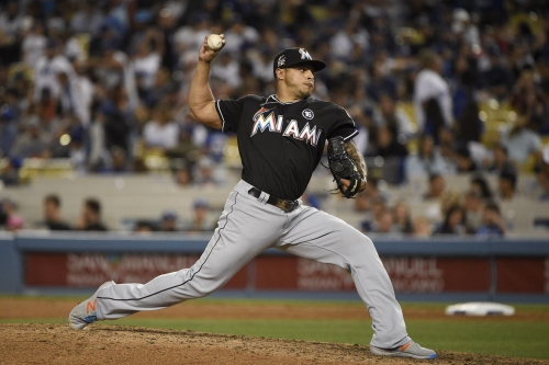 MLB Trade rumors: Rockies 'expressing strong interest' in Marlins closer A.J. Ramos