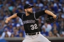 Tyler Chatwood could be moved to Rockies bullpen when he comes off DL
