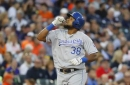 Perez, Moustakas homer in 12th, Royals beat Tigers 5-3 (Jul 24, 2017)