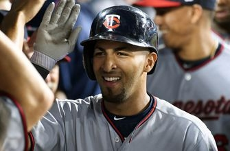 WATCH: Twins' Rosario smacks 3 extra-base hits