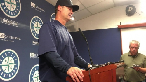 Mariners manager Scott Servais discusses the superb outing from James Paxton