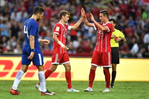 Chelsea vs. Bayern Munich, ICC: Half-time report