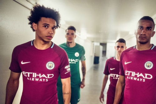 Manchester City officially launch gorgeous 2017/18 away kit