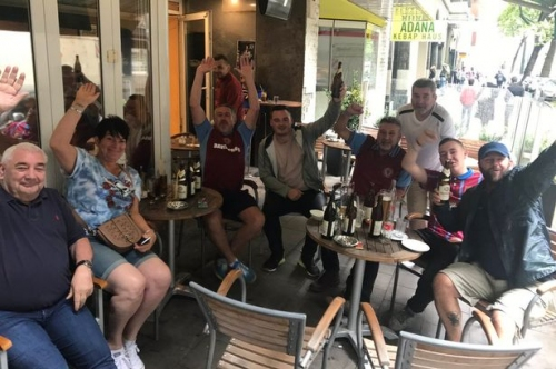 Hotels, travel, time off work - but Aston Villa fans make the most of it after Germany friendly cancelled