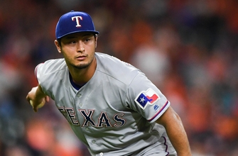 Rangers prepare for Marlins with Darvish still on roster
