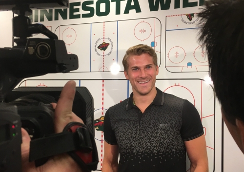 Marcus Foligno — a.k.a. Moose — brings much-needed size to Wild lineup