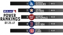 MLB Power Rankings Keep Sox In Fourth Spot This Week