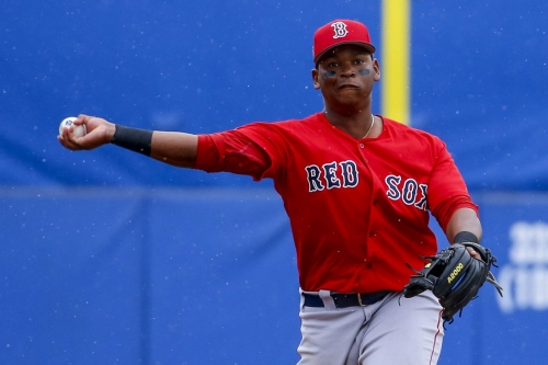 Red Sox at Mariners lineup: It's Rafael Devers time