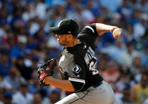 Brewers agree to deal bringing reliever Anthony Swarzak from White Sox for OF Ryan Cordell