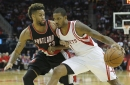 Could the Allen Crabbe trade clear the way for Carmelo Anthony to the Rockets?