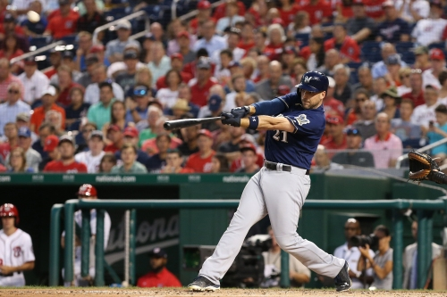 Brewers 8, Nationals 0: The offense awakens with home runs to support Davies' pitching