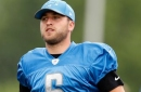Lions punter Sam Martin out with ankle injury