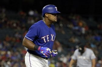 Gallo hits 2 of Rangers' 4 HRs in 10-4 win over Marlins (Jul 25, 2017)