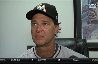 Don Mattingly breaks down the loss to the Rangers