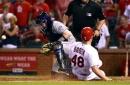 Bader scores winning run in Cardinals' 3-2 walk-off win over Rockies