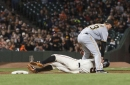 Giants lose ballgame, dignity