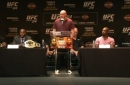 Dana White addresses those Brock Lesnar vs. Jon Jones