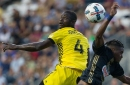 Cards and goals galore in big Columbus Crew SC loss