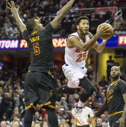 Cavaliers view Derrick Rose as 'great off-the-bench backup point guard'