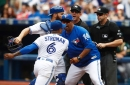John Gibbons, Marcus Stroman, Russell Martin all ejected in Blue Jays game against Athletics