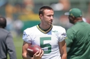 Rookie punter Justin Vogel has strong start in camp
