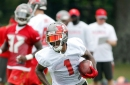 The first day of Buccaneers training camp featured some big plays