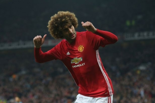 Manchester United fans celebrate Christmas coming early as Marouane Fellaini looks set to leave Old Trafford