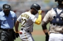 McCutchen's 3 homers carry Cole, Bucs to 7-1 win vs Padres (Jul 30, 2017)