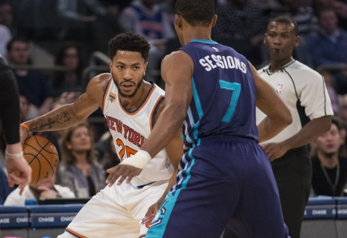 Derrick Rose wanted no part of the Knicks' plans for him