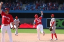 Blue Jays give Angels a taste of their own comeback medicine with walk-off grand slam in 9th