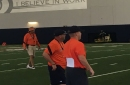 Auburn opening day practice notes: Jason Smith moved from WR to DB