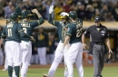 Game 106: A's Claim First of Bay Bridge Series, Top Giants 8-5