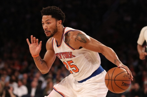 2017 NBA Offseason: The Knicks and Derrick Rose didn't agree on his role for next season